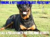 Rottweiler Home Security Meme
